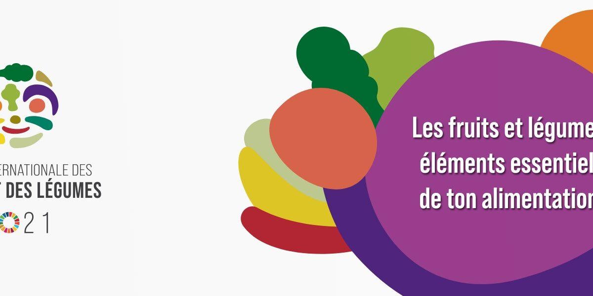 Année internationale des fruits et légumes.